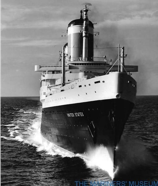 Οι SS Ηνωμένες Πολιτείες. Φωτογραφία: Gibbs & Cox