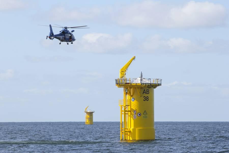 Ожидается, что общая мощность мегаваттных мощностей морских ветряных электростанций США достигнет 22 000 к 2030 году и 43 000 к 2050 году. Для поддержки этого роста, согласно отчетам Министерства энергетики США, к 2030 году будет создано более 40 000 новых рабочих мест. © Zacharias / AdobeStock