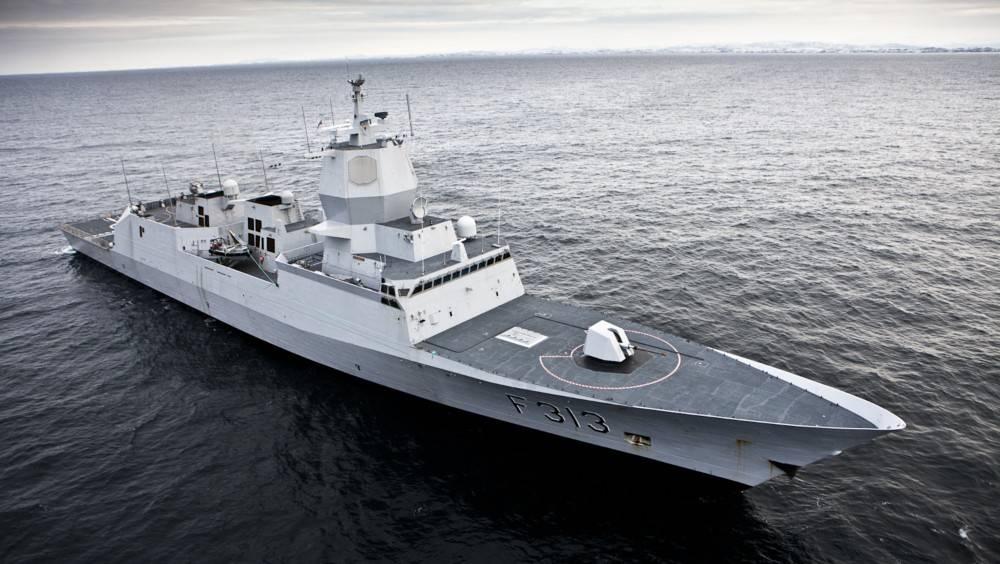 صورة ملف Helge Ingstad (الائتمان: القوات المسلحة النرويجية)
