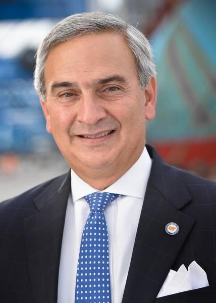 サウスカロライナ港湾局(SCPA)の社長兼CEOのジム・ニューメモ