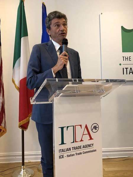 ラ・スペツィアのフランチェスコ・ディ・サルシーナ事務局長。 (写真:Greg Trauthwein)