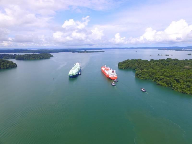 (الصورة: هيئة قناة بنما)