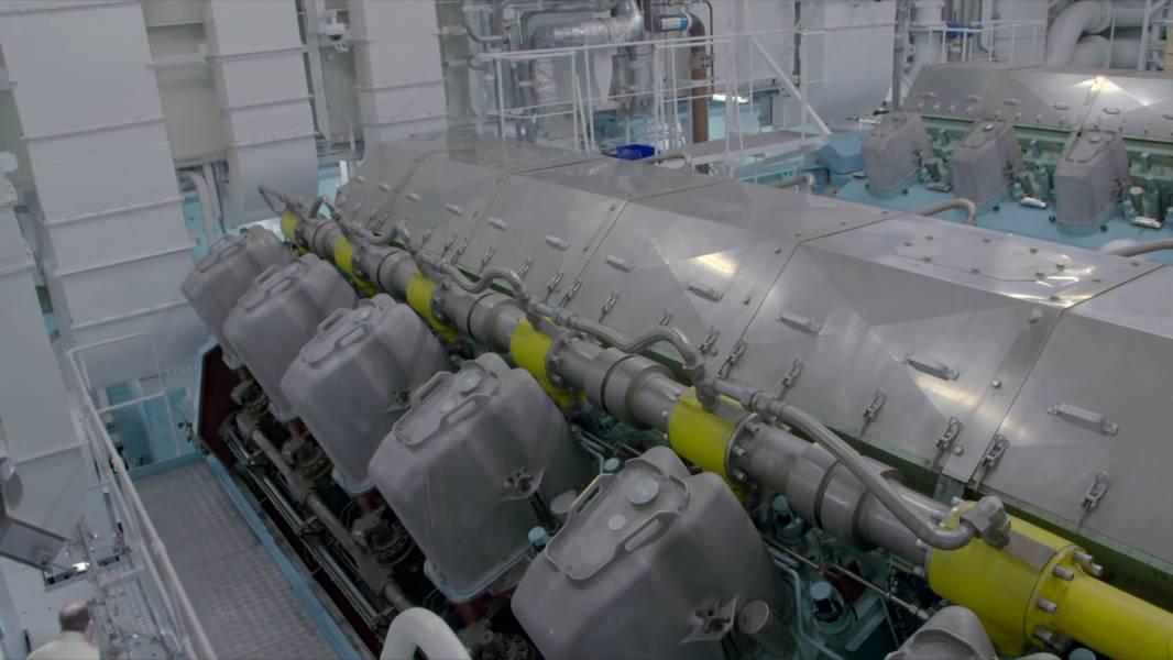AIDAnova Maschinenraumlayout