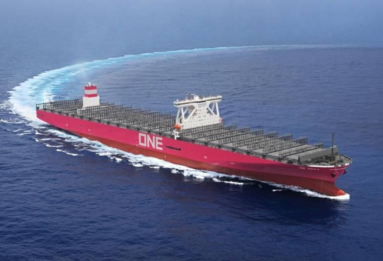 UM Aquila durante os testes no mar (Foto: ONE)