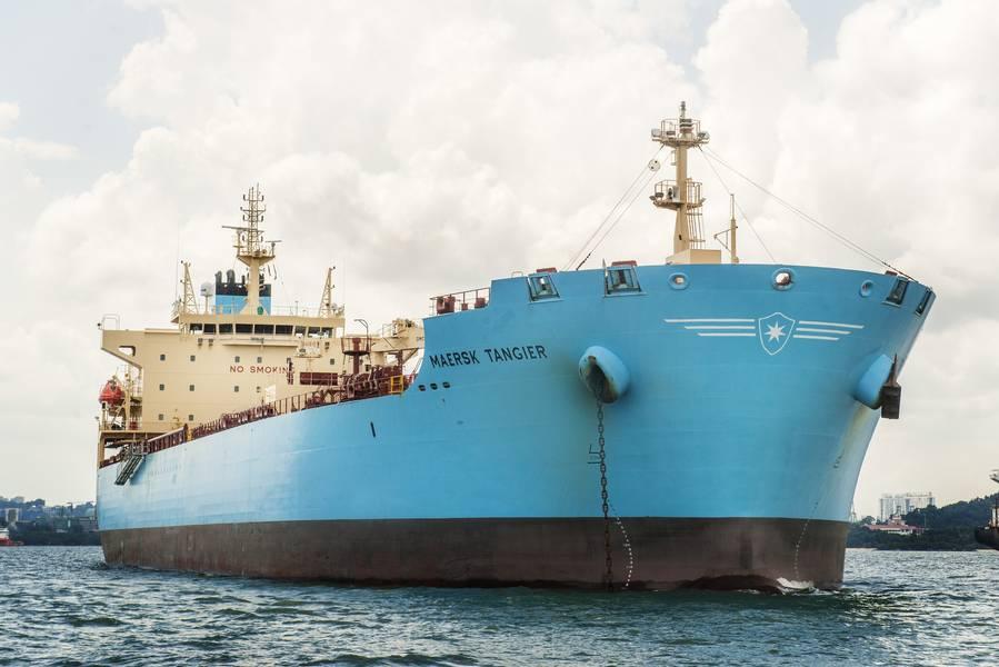 CRÉDITO: petroleiros de Maersk