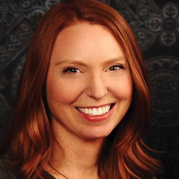Die Autorin, Melissa Odegaard.