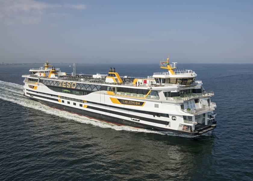 Ferry Texelstroom de TESO. Imagen cortesía de C-Job