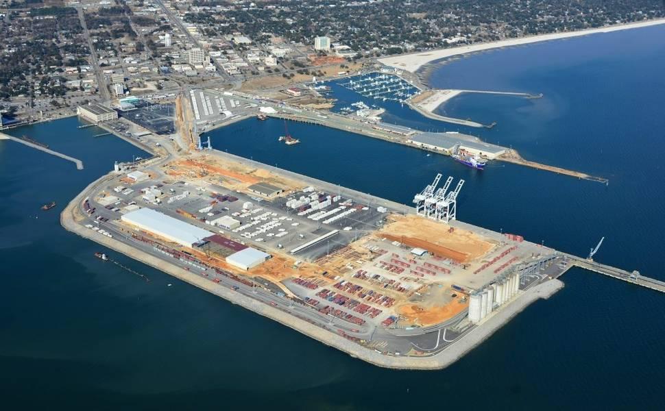 Gulfport como aparece hoje.