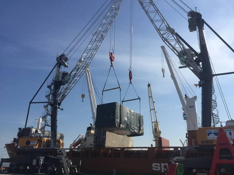 Gutschrift: Hafen von Cleveland