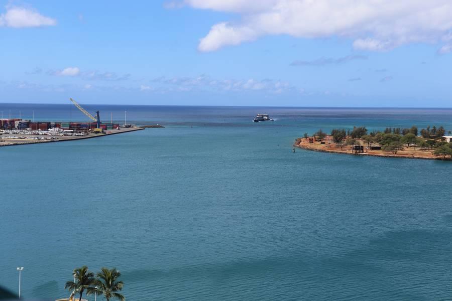 Haleiwa pequeno porto de barcos