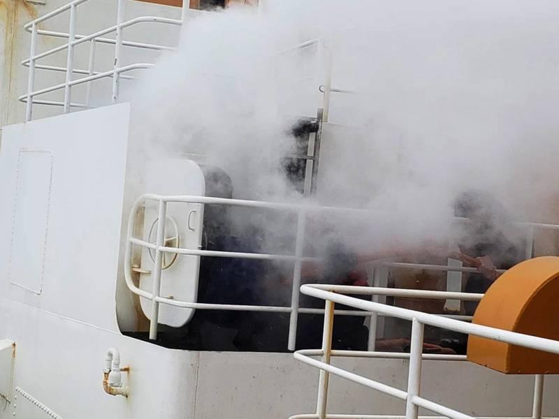 Imagen cortesía de la guardia costera de los Estados Unidos.