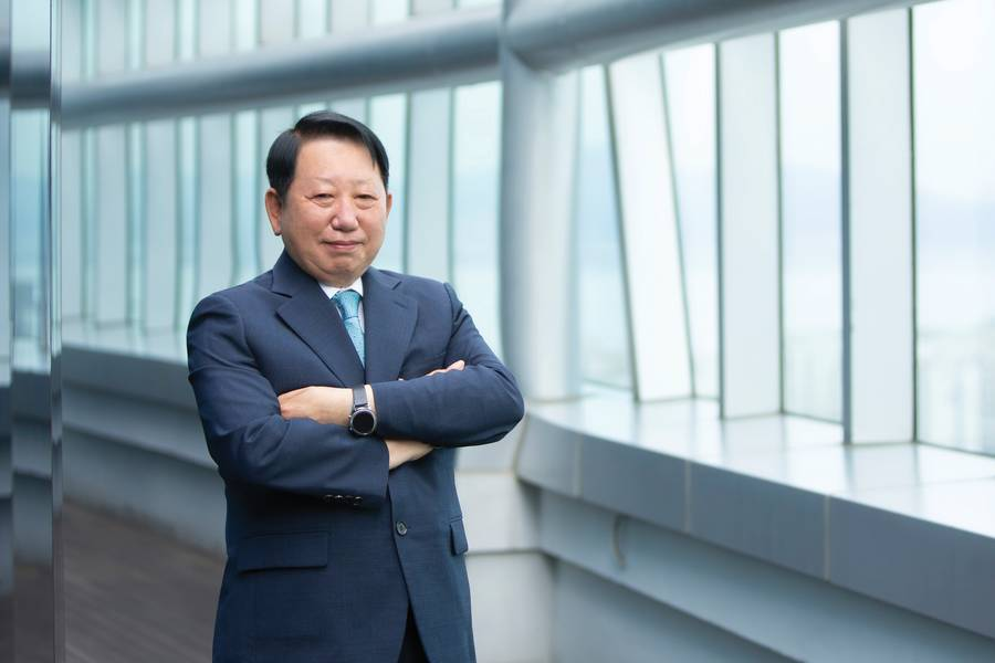 Jeong-kie Lee, Chairman und CEO, koreanisches Register