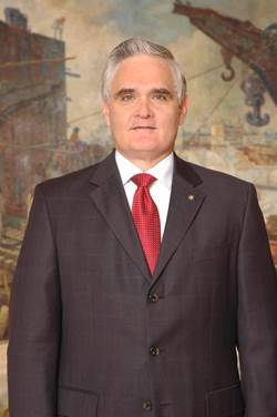Jorge Quijano lidera a Autoridade do Canal do Panamá (Foto: Autoridade do Canal do Panamá)