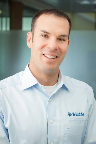 Kevin García, gerente de área de negocios para construcción marina y especializada en la División de Ingeniería Civil y Construcción de Trimble