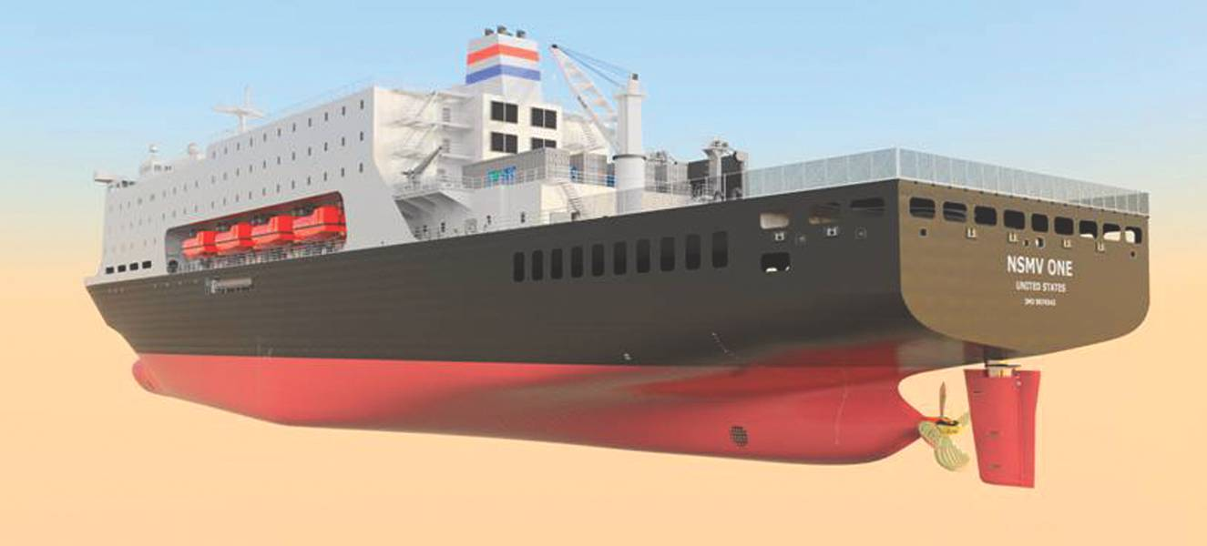 NSMV rendering: CRÉDITO Herbert Engineering / Marad