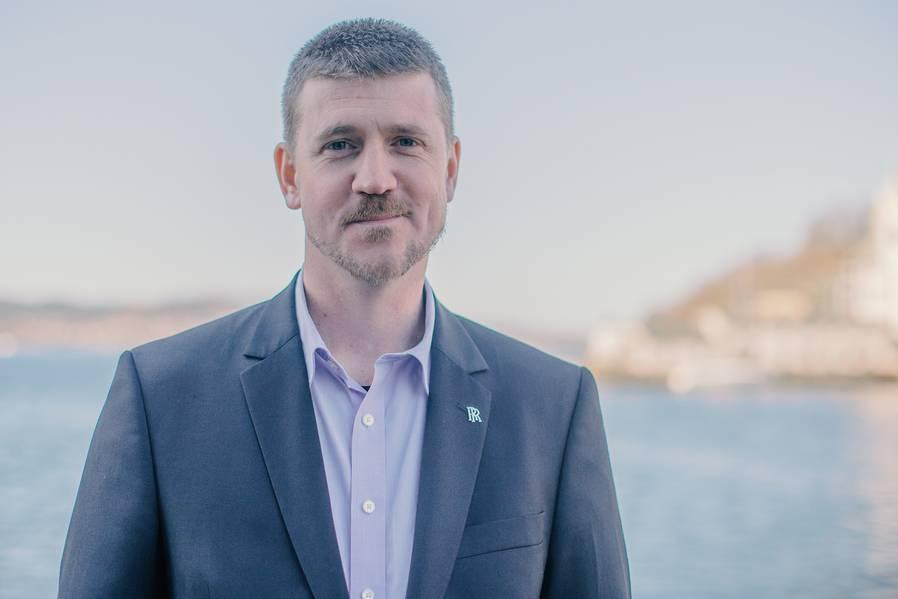 Oscar Kallerdahl, vicepresidente de sistemas de GNL de Rolls-Royce Marine