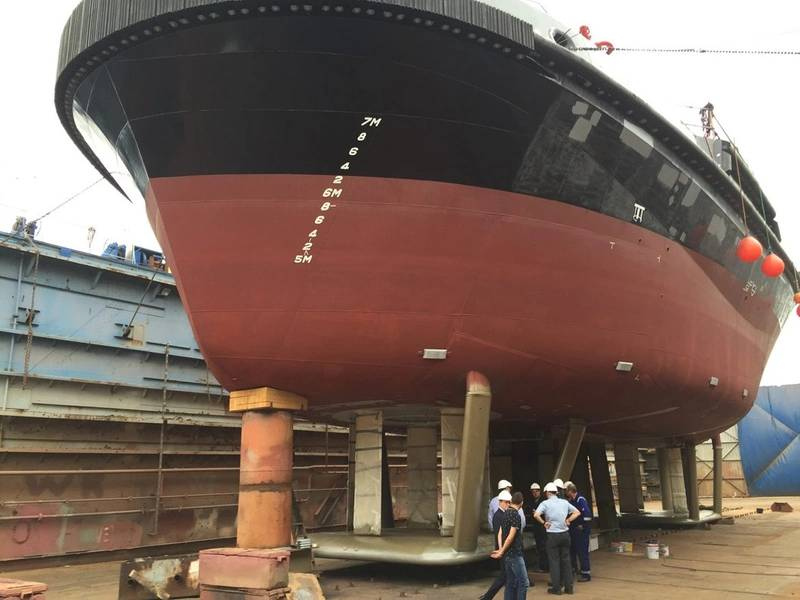 RAVE-tug-propulsion Foto cedida por Robert Allen Ltd