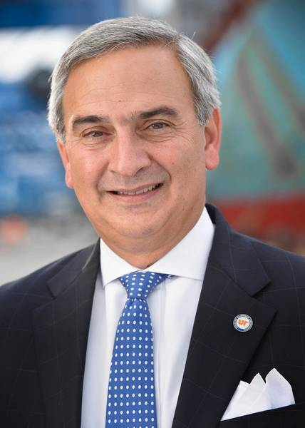 South Carolina Ports Authority (SCPA) Präsident und CEO, Jim Newsome