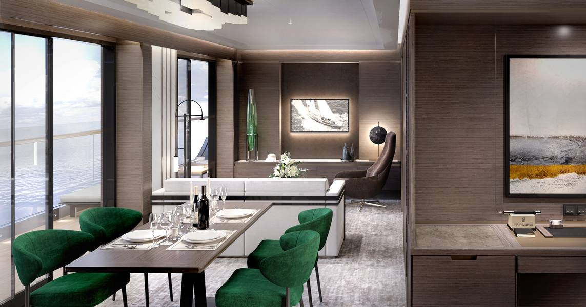 Suíte Grand Dayroom. Imagem: Tillberg Design da Suécia