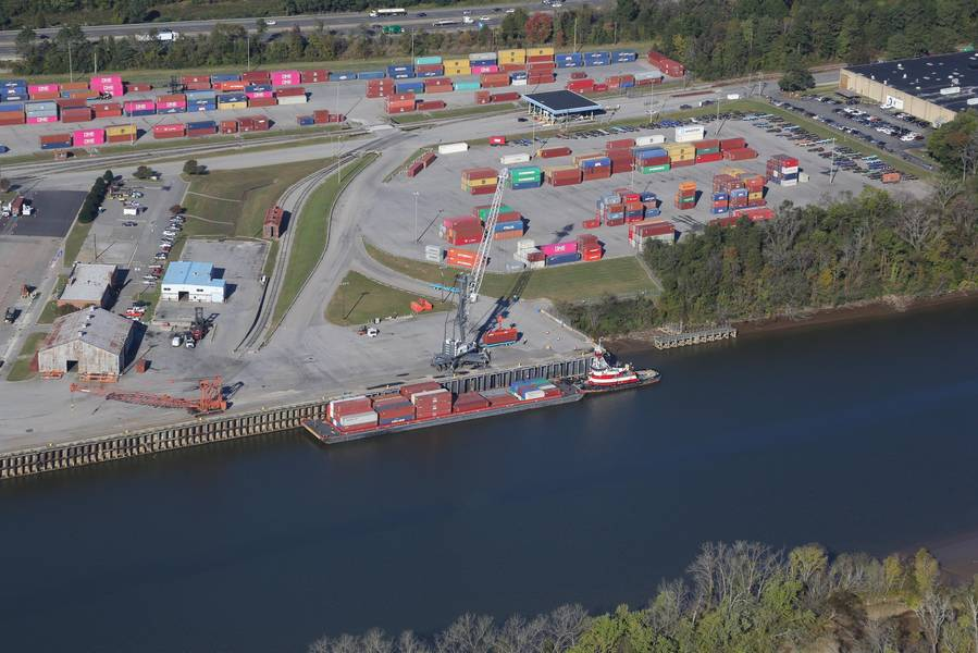 Terminal marina de Richmond, puerto de Virginia