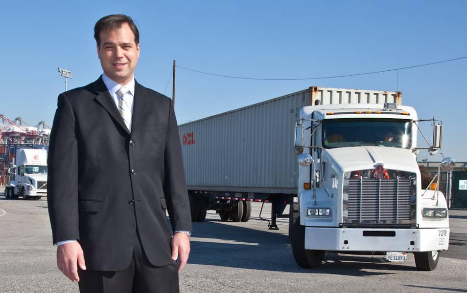 Thomas A. Jelenić, vice-presidente da Pacific Merchant Shipping Association (PMSA)