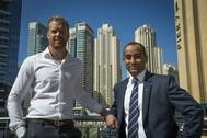 William Stranne, Manager Chartering and Aayush Giri,  General Manager are now based in Dubai (Photo: Stena Weco)