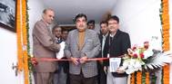 The Union Minister for Shipping,  Nitin Gadkari inaugurating the Sagarmala Development Company's office premises, in New Delhi on December 26, 2016. The Secretary, Ministry of Shipping, Rajive Kumar is also seen