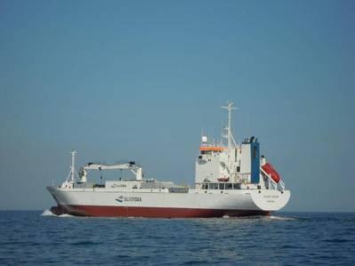 One of five reefer vessels now acquired by Samskip Logistics - renamed Samskip Arctic (Photo: Samskip)