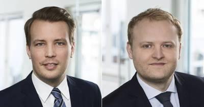 Бьорн Андерсен (слева) и Арне Корлейс. Фото: Hafen Hamburg Marketing