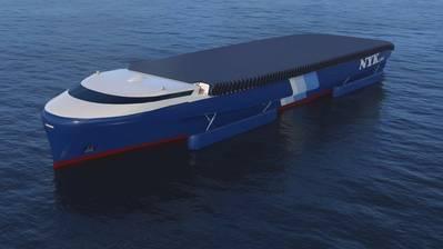 Концептуальный NYK EcoShip (CREDIT: NYK)