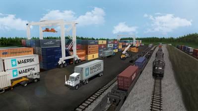 تقديم تصميم الميناء الداخلي لجورجيا (CREDIT: GA Ports)