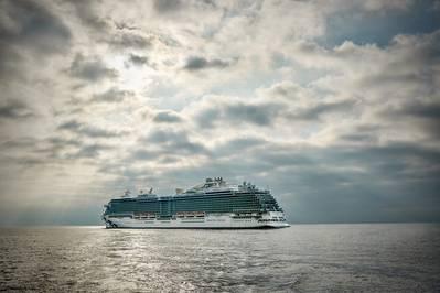 دخلت خدمة ماجيستك برنسيس من تصميم Fincantieri لخدمة الأميرة كروز في عام 2017 (File photo: Princess Cruises)