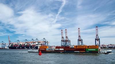 छवि: रॉटरडैम का बंदरगाह