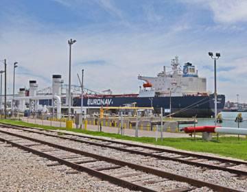 写真:コーパスクリスティ港