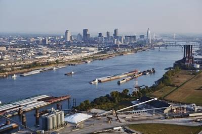 写真:セントルイ地域貨物道