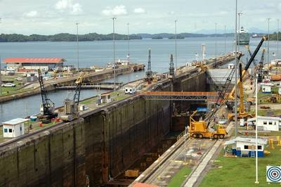 图片:巴拿马运河管理局