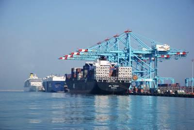 图片:巴林APM码头