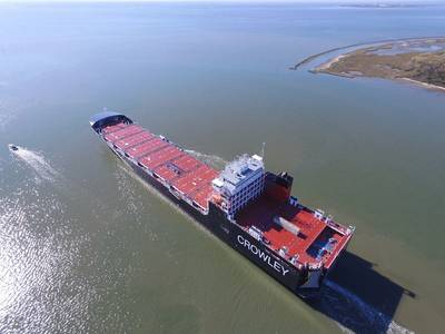 照片由Crowley Maritime提供