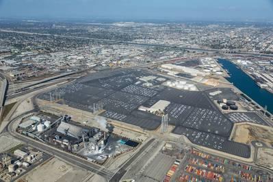 (الصورة: ميناء لونغ بيتش)