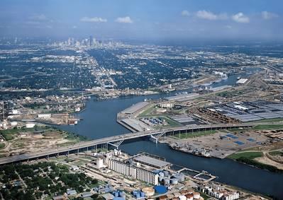 (फाइल फोटो: ह्यूस्टन का बंदरगाह)