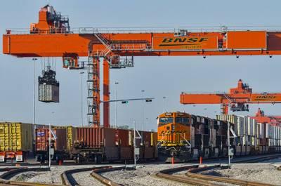 Το BNSF Logistics Park Kansas City, στο Edgerton, Κάνσας.