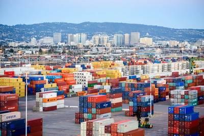 Bild: Hafen von Oakland