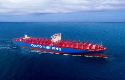 COSCO Aries (Foto: COSCO Shipping)