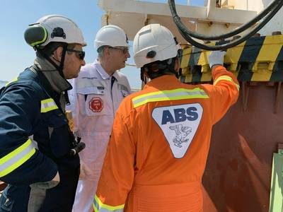 Christopher J. Wiernicki, Πρόεδρος της ABS, Πρόεδρος και Διευθύνων Σύμβουλος. Φωτογραφία: ABS