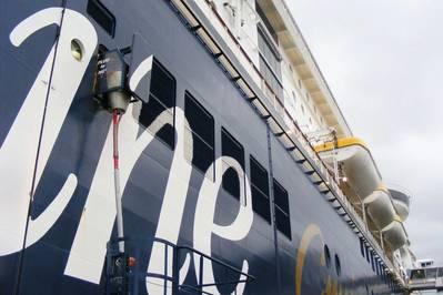Fuente de alimentación Shore / Foto: Puerto de Kiel