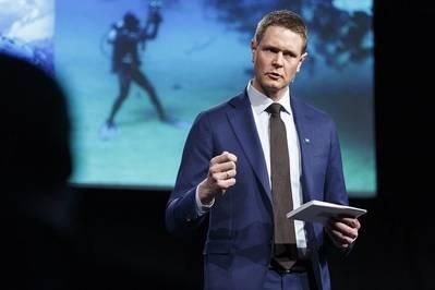 Harald Solberg (Φωτογραφία: Νορβηγική Ένωση Ναυτιλίας)