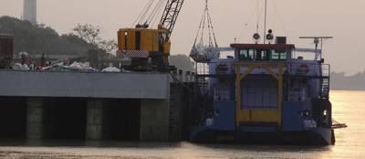 Pic: Autoridad de vías navegables interiores de la India