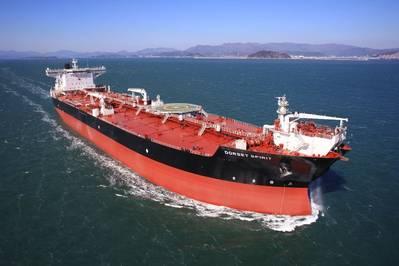 SHI-κατασκευασμένο δεξαμενόπλοιο για πλοιοκτήτη της Βόρειας Αμερικής. Φωτογραφία: Samsung Heavy Industries
