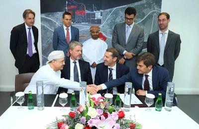 Η SOHAR υπογράφει συμφωνία με τη Dredging International NV. Φωτογραφία: Επίσημη σελίδα Twitter του SOHAR