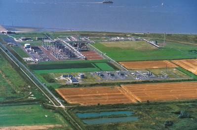 Terminal de Emden (Foto: Gassco)
